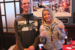 Lern at Syberg's Arnold with KSHE listeners with their Goose Island KSHE Classic Pale Ale pint glasses on December 12, 2019